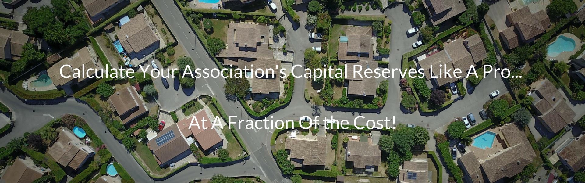 Condo association reserves study